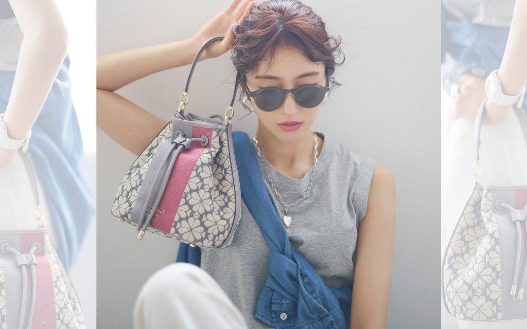 【土生瑞穂×ケイト・スペード ニューヨーク】日本限定バッグでシンプルコーデを脱・無難!