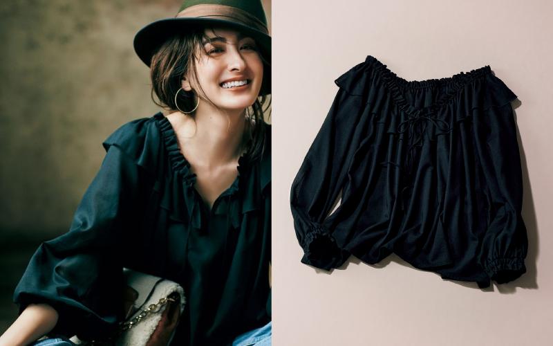 秋服ノープランの大人女子が「まず買うべき服」【黒ブラウス】