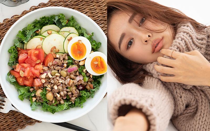 【加治ひとみ】1週間「腸活つくりおき」レシピ【押麦のサラダボウル】