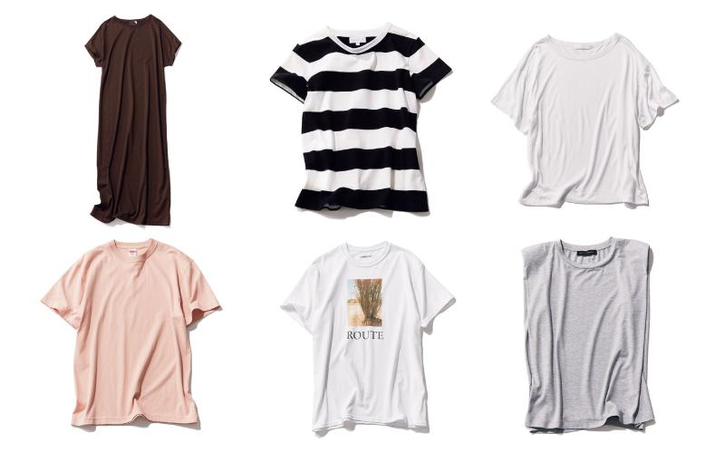 大人女子が「今から買っても使い倒せる、夏のTシャツ」6選