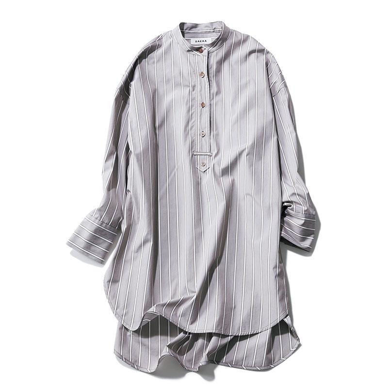 ワイドパンツやゆるシャツをメイ