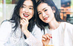 (左)吉竹美聡さん(28歳・ビ