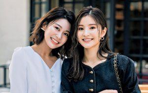 (左)加藤由美さん(28歳・ア