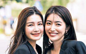 (左)苅田由佳さん(32歳・法