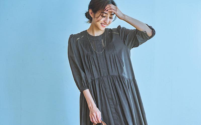 【今日の服装】初秋にぴったりの「ワンピ」コーデって?【アラサー女子】