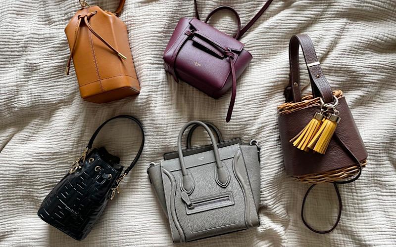 【フェンディ、セリーヌ他】Sサイズがおすすめするミニバッグと中身を大公開!