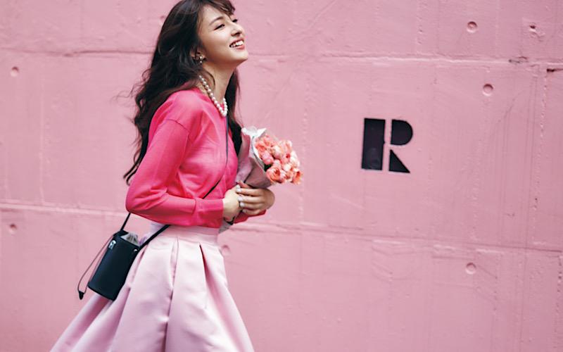 【今日の服装】今季トレンドの「ピンク」の着こなし方って?【アラサー女子】