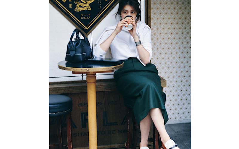 【今日の服装】オシャレ見えできる秋の「通勤スカート」コーデって?【アラサー女子】
