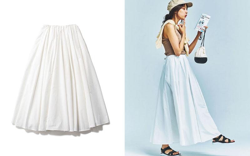 アラサー女子におすすめの「白フレアスカート」着回しコーデ4選