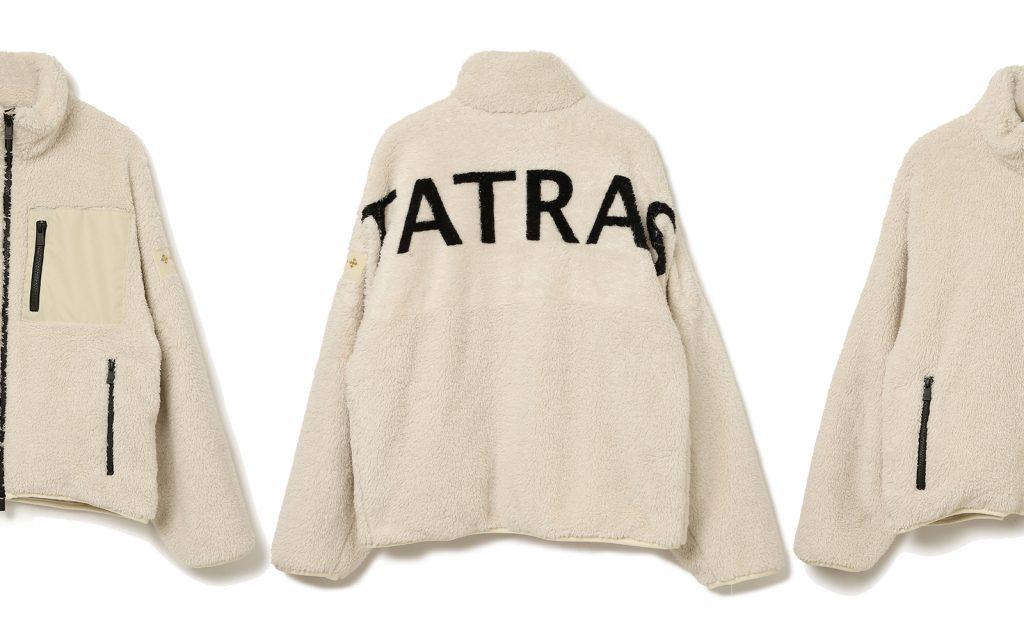 寒さが本格化する前にチェックしたい!「タトラス」新作フリースアウター。