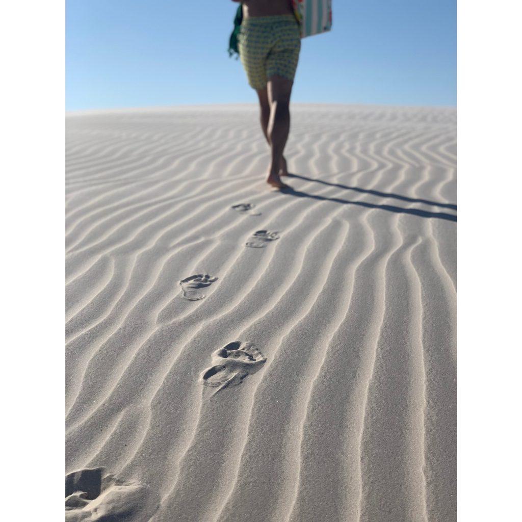 ちなみに、レンソイスの砂丘の下