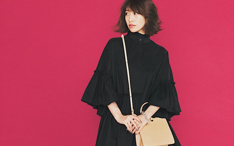 【今日の服装】重く見えない「オールブラックコーデ」って?【アラサー女子】
