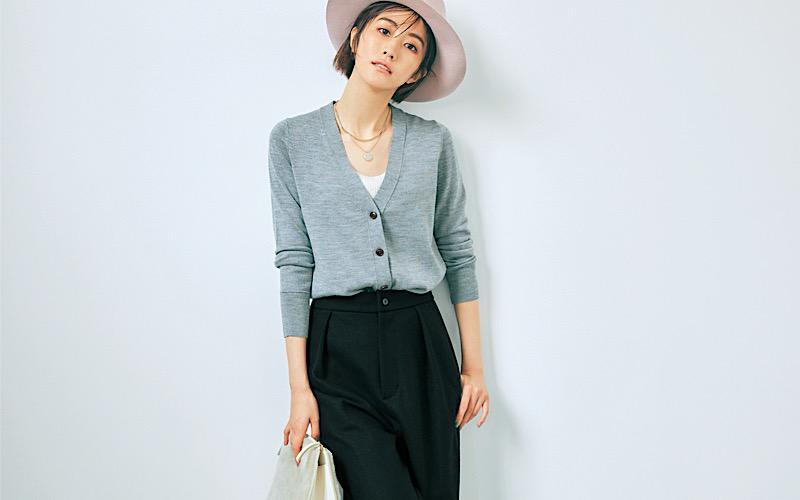 【今日の服装】周りと差がつく「黒パンツ」コーデって?【アラサー女子】