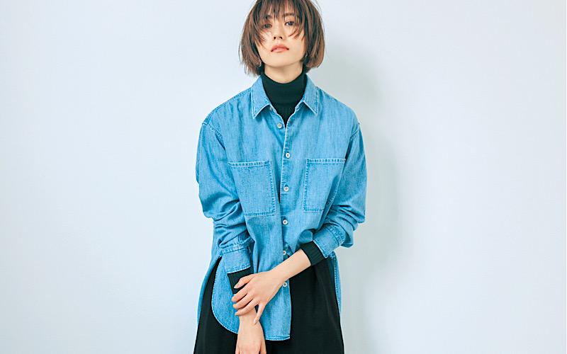 【今日の服装】実はGジャンよりオシャレな「デニムシャツ」コーデって【アラサー女子】