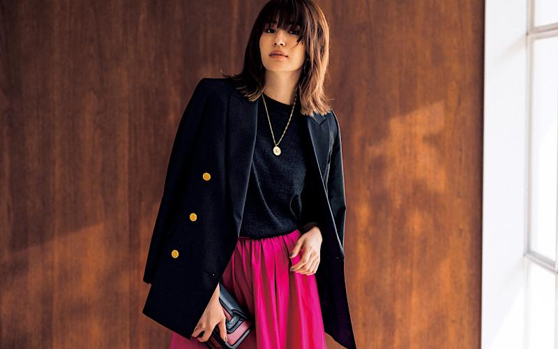 【今日の服装】脱マンネリの「紺ブレ」コーデって?【アラサー女子】