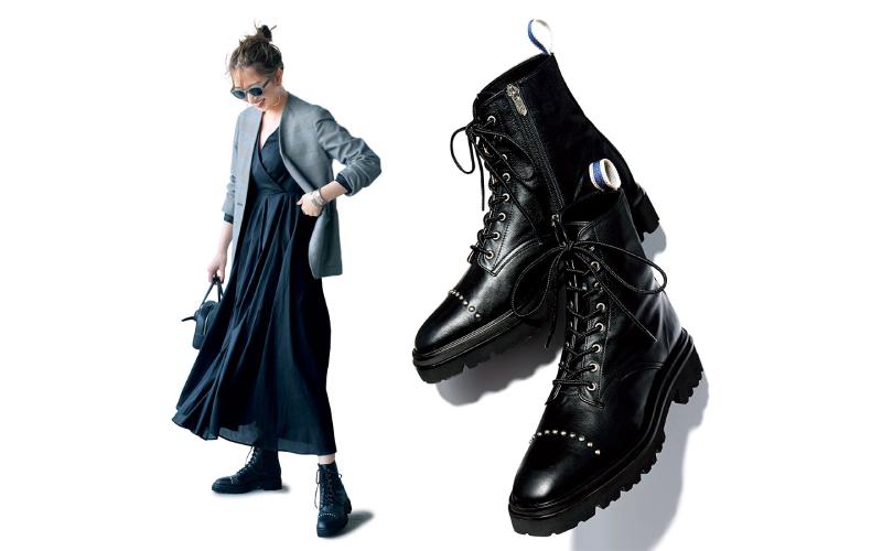 大人カッコいい「黒ブーツ」、秋のおすすめコーデ2つ