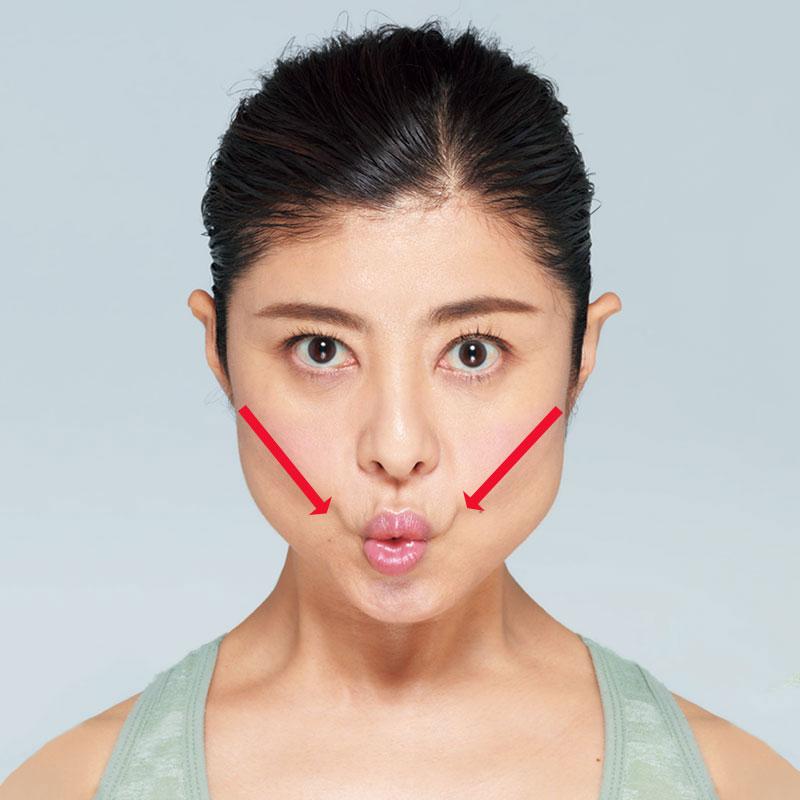 顔がむくむ原因は、顔の筋肉を使