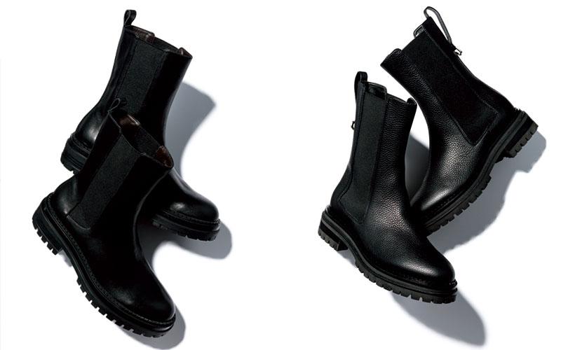 最近話題の「黒サイドゴアブーツ」、大人はどう履いたらいいですか?
