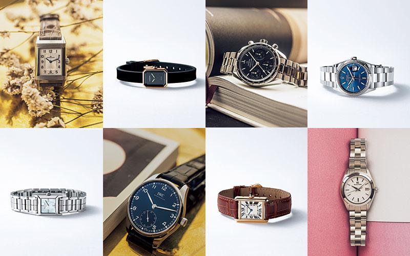 【ロレックス、シャネル、カルティエ…】20代でも50代でも似合う「名品時計」8選